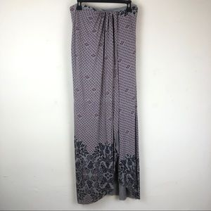 Free People Boho Maxi Skirt Wrap Size L